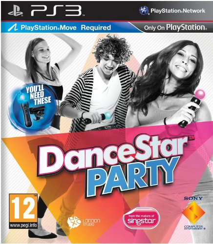 Sony DanceStar Party PlayStation 3 Inglés vídeo - Juego (PlayStation 3, Música,...