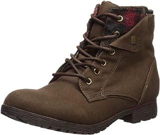Women's Tavin Chelsea Boot, Brown/red, 7.5 Medium US