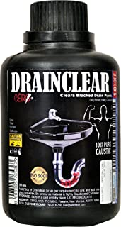 CERO Drainclear Dry Powder to Clear Clogged Drains, Sinks and Pipes (200 g)