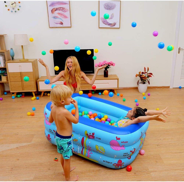 descuento de ventas LSX LSX LSX LIUSIXIAO-Piscina Piscina Inflable para Niños Piscina para Niños Juego Familiar Piscina con Tina para bebés de Juguete OYO (Talla   Small)  venta directa de fábrica