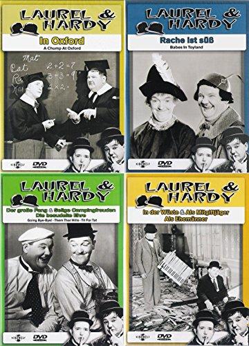 Laurel & Hardy - Collection 3 | In der Wüste | Der große Fang | Rache ist süß | In Oxford [4er DVD-Set]