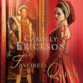 The Favored Queen cover art