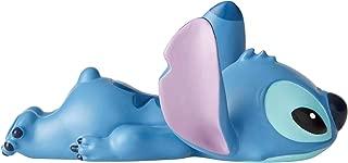 Enesco Disney Showcase Lilo and Stitch Laying Down Mini Figurine, 2.5 Inch, Multicolor