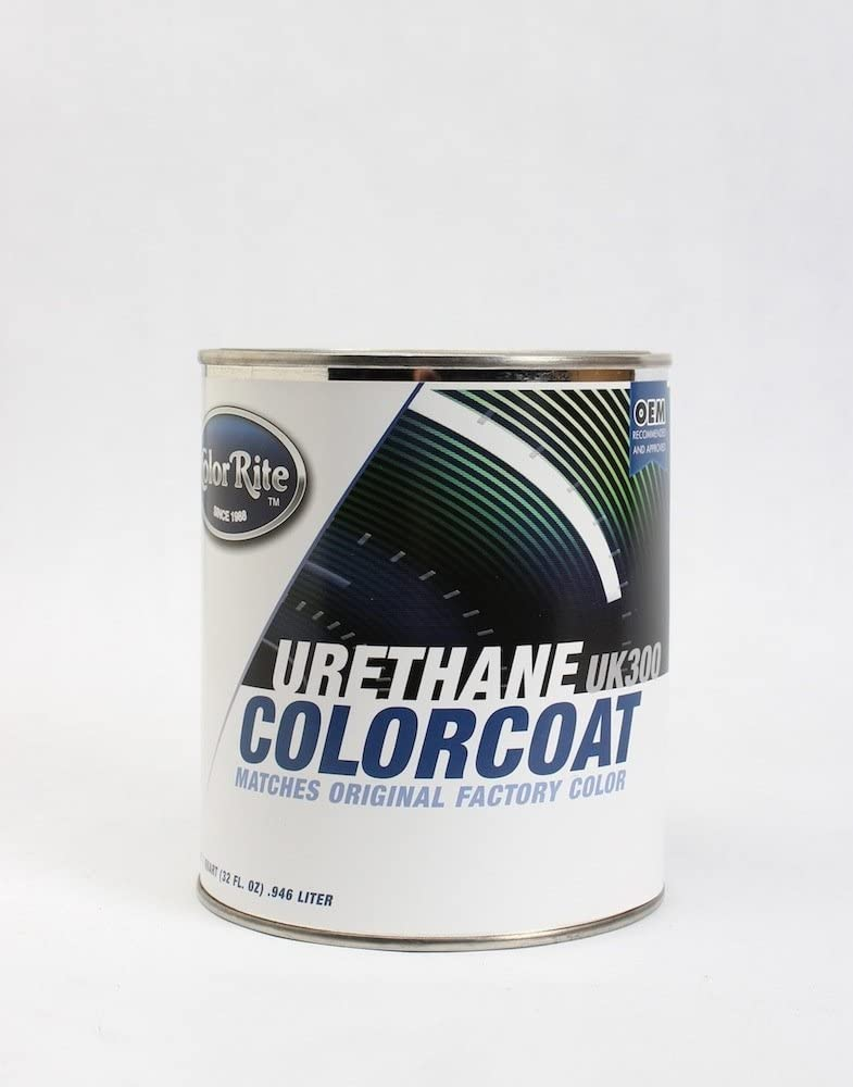 ColorRite 0582 Mat Black #2 low-pricing MBL2 Max 57% OFF Paint for Yama Quart Touch-Up