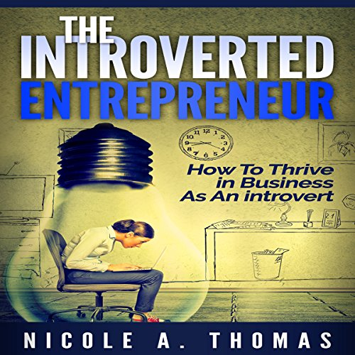 The Introverted Entrepreneur audiobook cover art