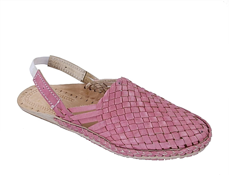 KOLHAPURI CHAPPAL Original Striking Baby Pink mat Design Back Strip Ladies Kolhapuri Half shoes Slipper Sandal