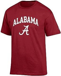 Elite Fan Shop NCAA Men's Team Color Short Sleeve T-Shirt Arch