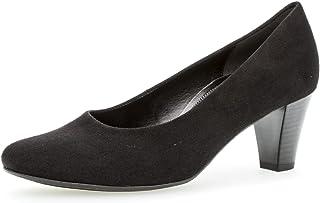 Gabor Comfort Basic Pumps in grote maten zwart 96.170.17 grote damesschoenen