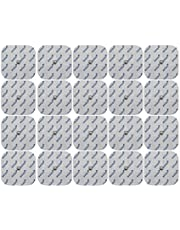 Set de 20 electrodos axion compatibles con COMPEX | Almohadillas para su aparato TENS y EMS | Set de parches mixtos para su electroestimulador, electroestimulación