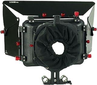 Filmcity Matte Box Hood Bracket for 15mm Rod Rail System for DSLR Sony Canon panasonic lumix Nikon Video Shoot (FC-MB-600-P)