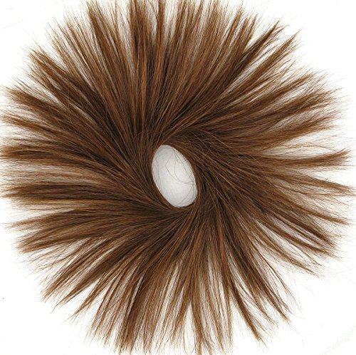chouchou chignon cheveux châtain doré cuivré ref 21 30
