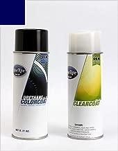 ColorRite Aerosol Automotive Touch-up Paint for Dodge Grand Caravan - True Blue Pearl Clearcoat PBU/KBU - Color+Clearcoat Package