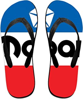 Mo-Par Logo Pantoufles Tongs Antidérapantes Pour Hommes Tongs De Plage