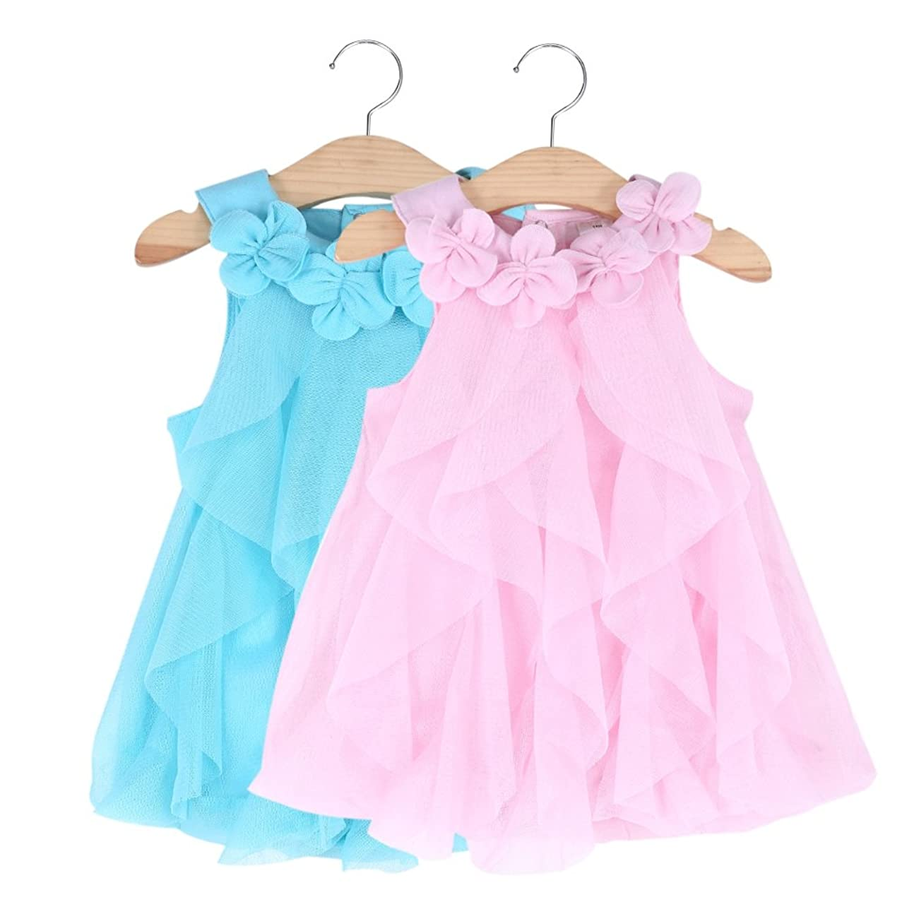 Ourdream 0-24 Months Baby Girla Pageant Party Soft Breathable Rompers Dress