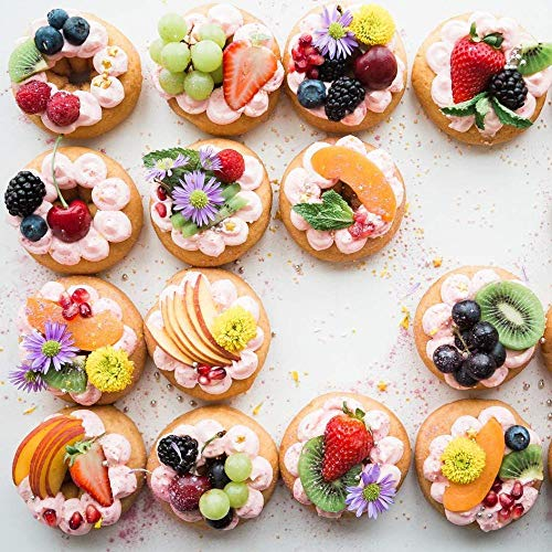 WMYZSHDWZ 1000 Piece Picture Puzzle Donut Joy Jigsaw Puzzle Delicious Family Fun Children's and Adult Educational Toys Modern Home Wall Decorations