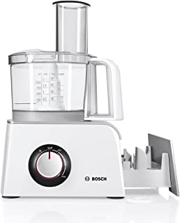 Bosch Multifunctional Food Processor with a Power of 800 W MCM4200, White