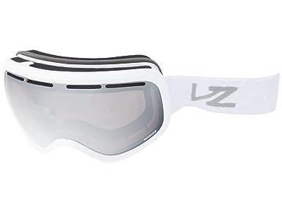 VonZipper Skylab (White Gloss Wavey/Wild Rose Silver Chrome) Goggles