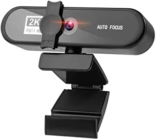 غطاء كاميرا الويب 1K 2K 4K HD Webcam PC Camera With Microphone High-definition Autofocus, Used For Laptop Home Conference ...