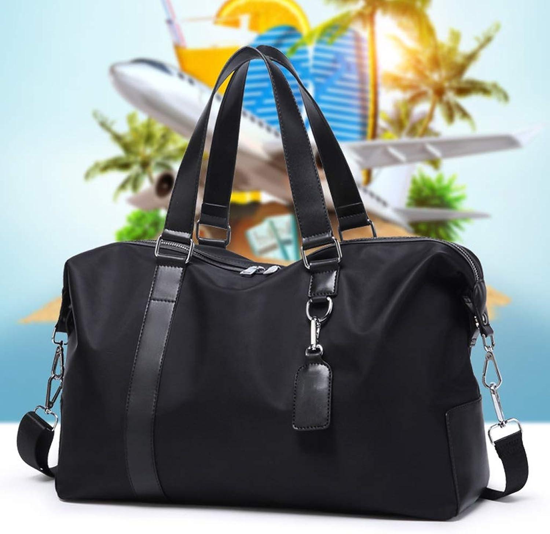 New Oxford Cloth with PU Waterproof Travel Bag Business Trip Shoulder Slung Mobile Handbag