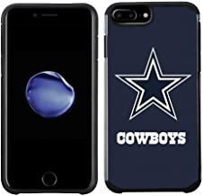 Prime Brands Group Cell Phone Case for Apple iPhone 8 Plus/iPhone 7 Plus/iPhone 6S Plus/iPhone 6 Plus - NFL Licensed Dallas Cowboys Textured Solid Color