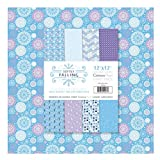 Crafter's Companion Centura Card Pack 12'X12' 20/Pkg-Softly Falling
