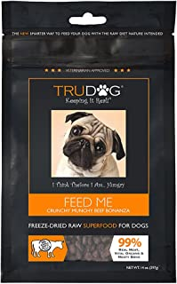 TruDog: Feed Me: Freeze Dried Raw Superfood – Real Meat Dog Food – Optimal..