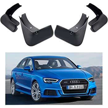 MOERTIFEI Car Mudguard Fender Mud Flaps Splash Guards Kit fit for 2015-2019 Audi S3 Sedan//Audi S3 Cabriolet
