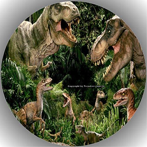 Premium Esspapier Tortenaufleger Dinosaurier AMA 17
