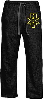 Ripple Junction WWE Adult Unisex NXT Vertical Logo Pocket Lounge Pants