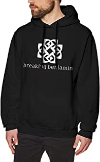 Benjamins Breaking Mens Long Sleeve Sweatshirts Mans Hoodies Black