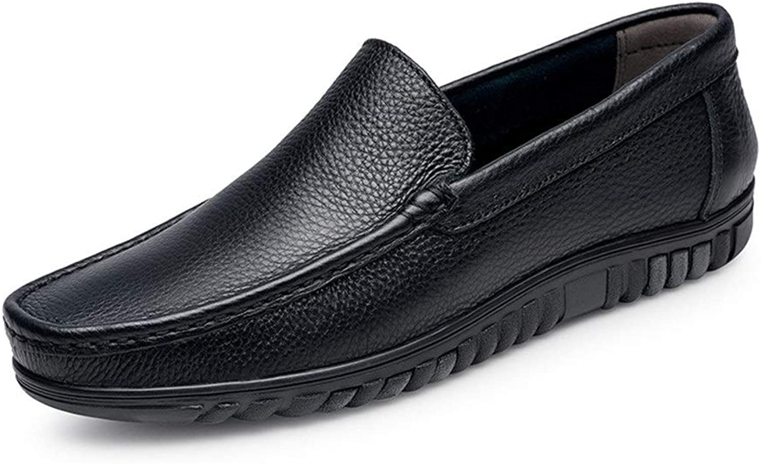 Men's Fashion Driving Loafer for Men Boat Moccasins Slip On Style OX Leather Simple Design Low Top Solid color Classic Work Boots,shoes