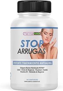 STOP ARRUGAS - Tratamiento antiarrugas a base de colágeno marino hidrolizado ácido hialurónico bambu etc.. | Previene l...