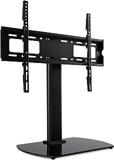 comprar comparacion RFIVER Soporte TV Universal de Mesa Pie para Television de 32 a 65 Pulgadas con Giratorio y Altura Ajustable UT2001