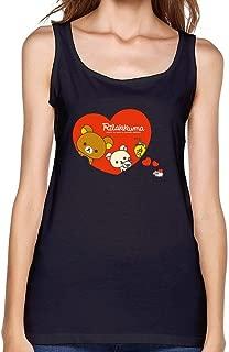 Dotion Women's Rilakkuma Waistcoat T Shirt