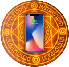 Magic Array Wireless Charger, 10W Fast Qi-Certified Wireless Charging Pad, Compatible iPhone XR/Xs Max/XS/X/8/8 Plus, Fast-Charging Galaxy S10/S9/S9+/S8/S8+/Note 9/Note 8, (No AC Adapter)