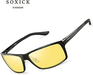 Night Vision Glasses For Driving Unisex Night Driving Glasses Anti-Glare Polarized