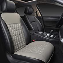 Black Panther Car Seat Covers, Luxury Car Protector, Universal Anti-Slip Driver Seat Cover with Backrest(1 Piece,Gray)