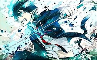 XXW Artwork Ao no Blue Exorcist Poster Okumura Rin/Yukio Okumura/Shiemi Moriyama/Shima Renzō Prints Wall Decor Wallpaper