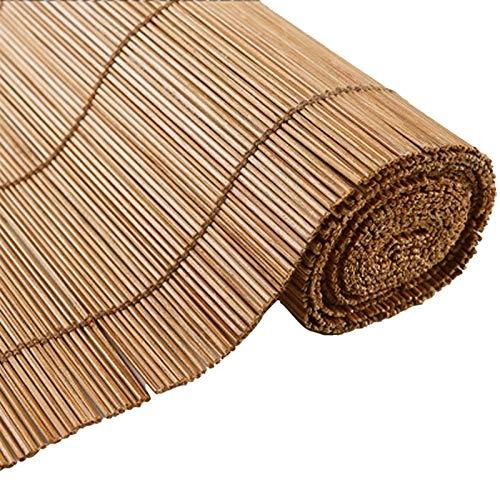 Persianas enrollables y estores Blings De Bambú De Estilo Rústico Sombras De Bambú Natural, Filtrado De Luz [impermeable] [impermeable] Pantalla [anti-UV] para Balcón De La Ventana De La Puerta, Perso
