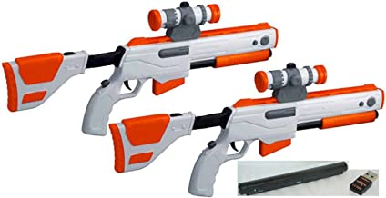 Cabela's Top Shot Elite Rifle Gun with Sensor and USB for PS3 (Pack of 2)