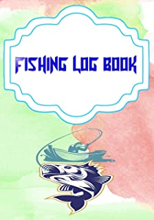 Fishing Log Software: Fly Fishing Log Size 7x10 Inches Cover Glossy   Journal - Ultimate # Best 110 Page Standard Print.