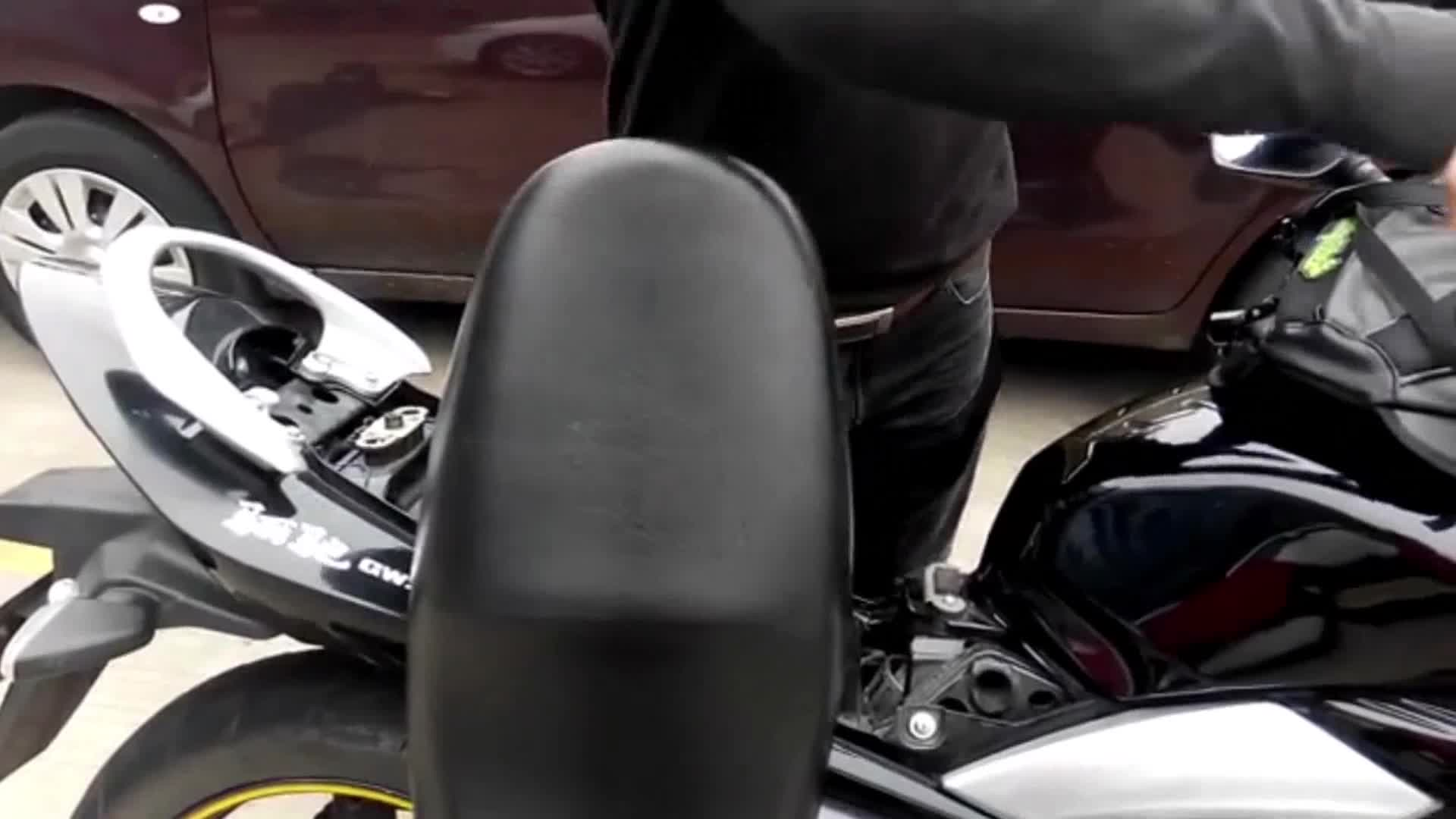 Katur Motorrad Rücksitz Tankrucksack Multifunktionale Wasserdichte Pu Leder Aufbewahrungstasche Satteltasche Motorrad Rücksitz Super Light Tail Zubehör Taschen Schwarz Auto