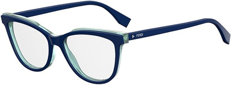 New Fendi ROMA FF 0255 PJP bluee transparent light torquoise Eye Wear