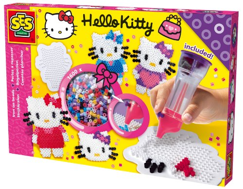 Strijkkralen SES Hello Kitty Met Perlamatic