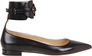 FRANCESCO RUSSO Luxury Fashion Womens R1P542215 Black Flats | Fall Winter 19