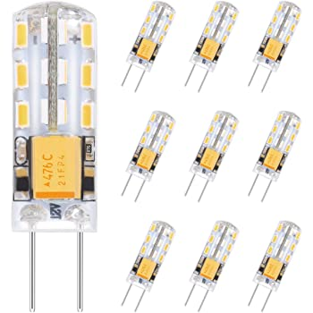 3X G4 LED Dimmable 12V AC//DC Light 3W High Quality 10 SMD 2835 Lamp Bulb Safer