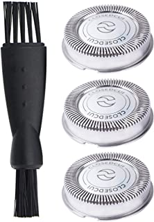 Poweka Hq56 Replacement Shaver Head for Philips Norelco HQ3 HQ6 HQ55 HQ56 Razor Shaving Heads Blade 3pcs