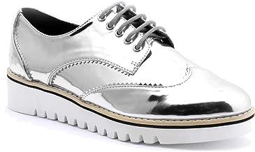 Cape Robbin Venus-1 Lace-Up Sneaker Silver