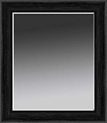 Printfinders Wall Mounted Framed Mirror in Stainless