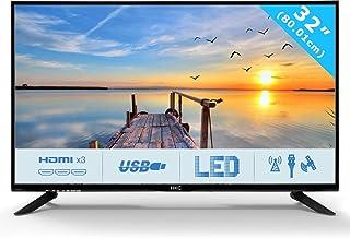 HKC 32C9A 80 cm (31.5 Pouces) LED téléviseur (HD Ready, Triple Tuner DVB-T2 / T/C / S2..